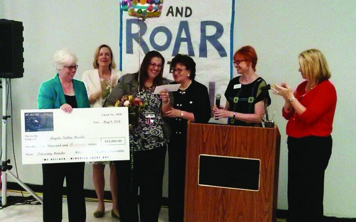 Junior Deputy Essay Contest Winners Awarded & Reading Teacher Wins $10,000 Award