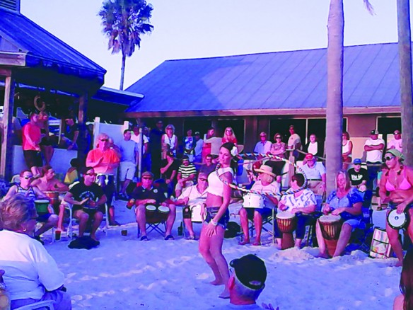 Sunset Grill At Little Harbor Hosts Weekly Drum Circle