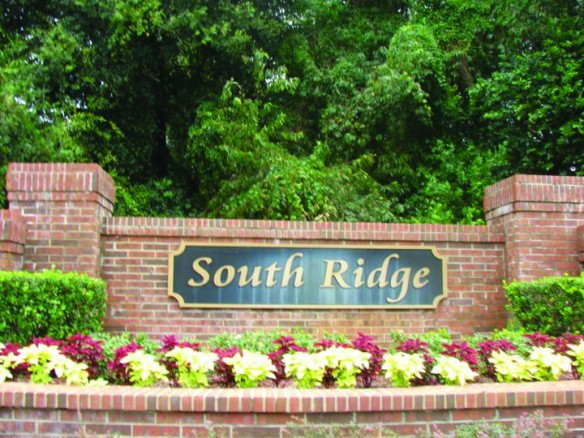 Updates From South Ridge Homeowners Association