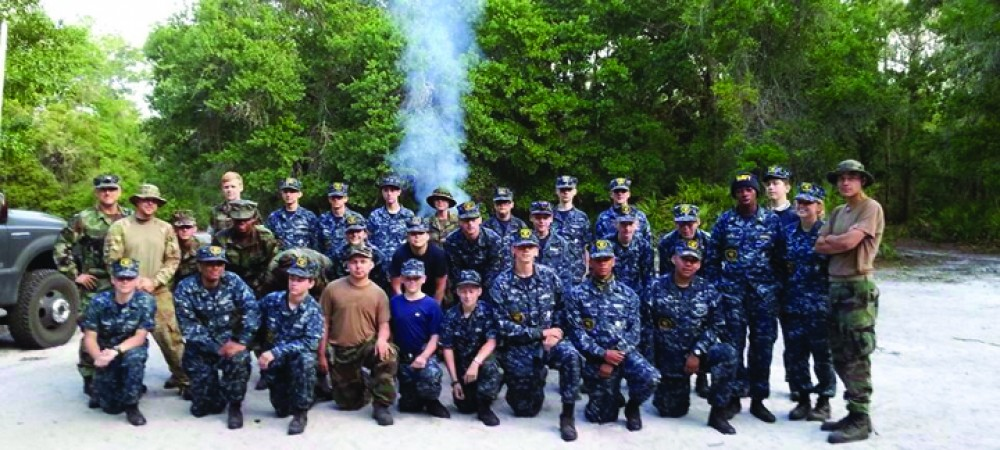 U.S. Naval Sea Cadet Program Provides Lithia Area Youth Life Skills