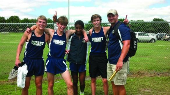 Durant Track Team Sports Post Season Strength