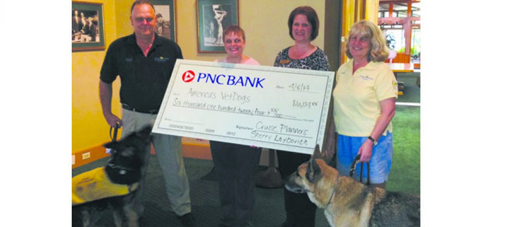 Cruise Planners Raises Money For America's Vet Dogs