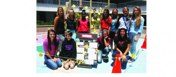 Burns Middle School Students Visual Art Project Reflects On Holocaust