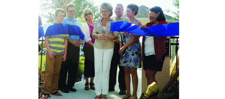 FishHawk Ranch Dedicates New Park In Honor Of Community's Founder
