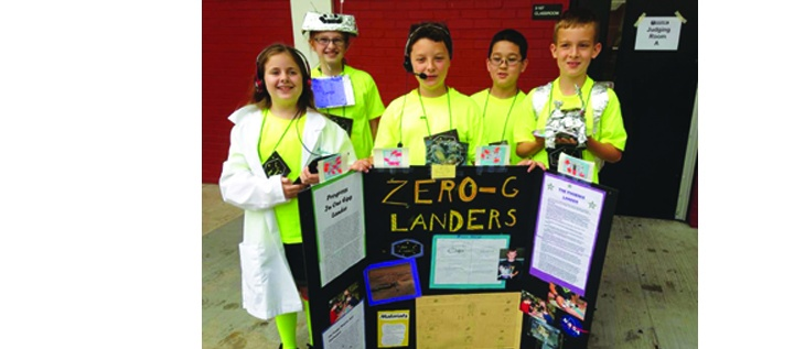 Lithia Springs Elementary Fourth Graders Win Space Florida Sponsored Science Competition