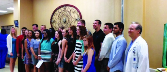 Brandon Regional Hospital Staff Awards High School Students Scholarships