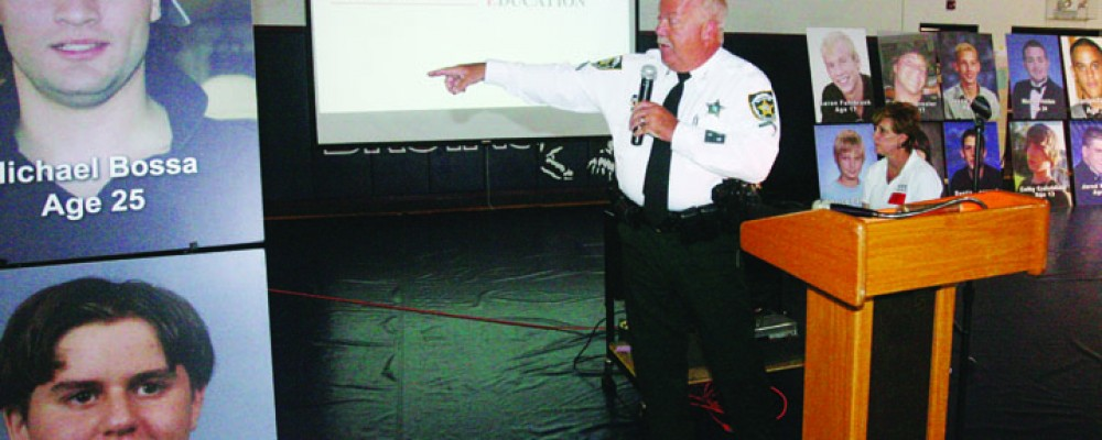 Burns Middle School Hosts Narcotics Overdose Prevention, Education Event
