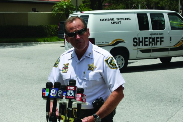 Sheriffs Office Boasts Of Crime Rate Reduction, Requests Budget Increase
