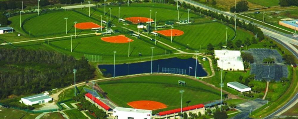 Plantcityaerial photo by ISF stadium at bottom 2004