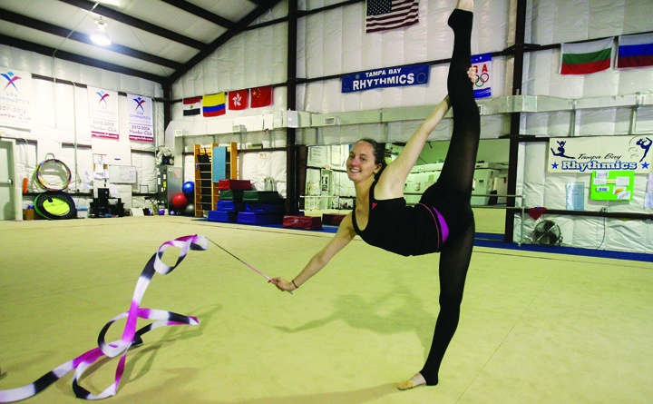 Riverview Rhythmic Gymnast Completes Successful Competitive Career