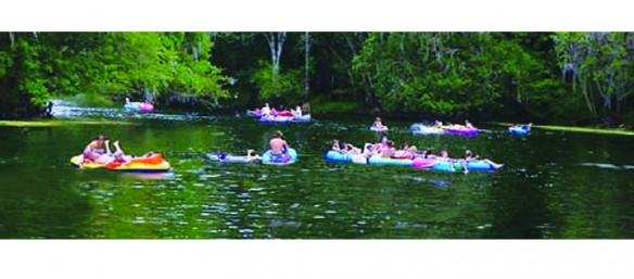 Spend Summer Days Tubing Down Nearby Rivers, Springs