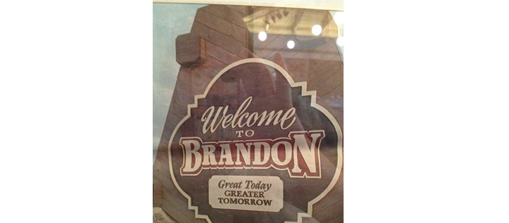 Exhibit Of Brandon's History Designed To Start Conversations