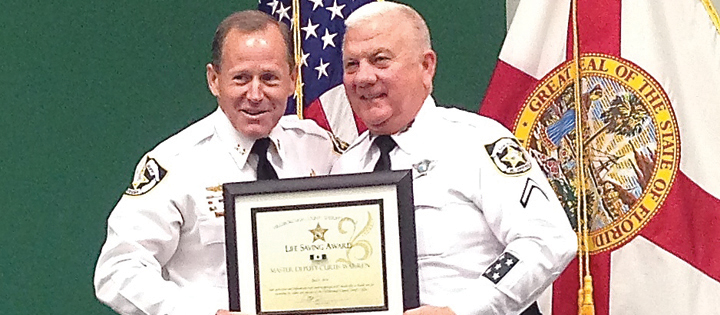 Deputies, Citizens Honored During Sheriff's Second Quarterly Awards Ceremony