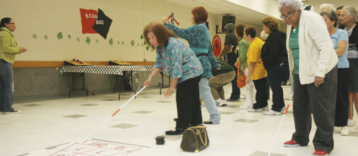 Seniors Compete During Annual Brain And Body Challenge