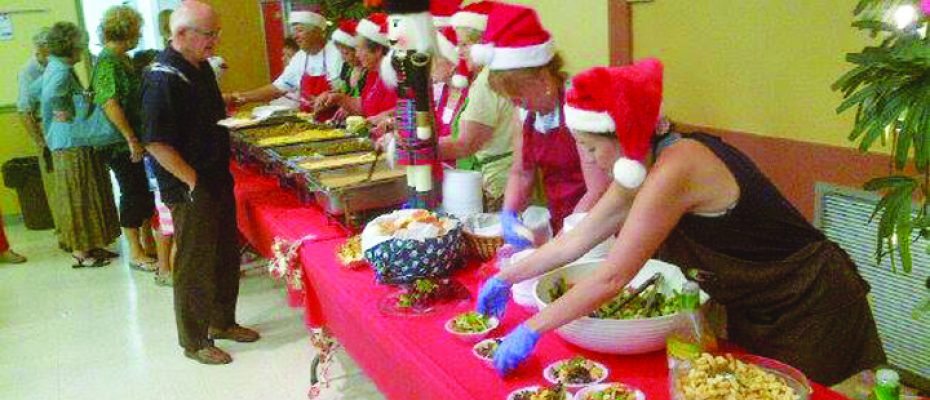 Calvary Lutheran Celebrating Christmas In July