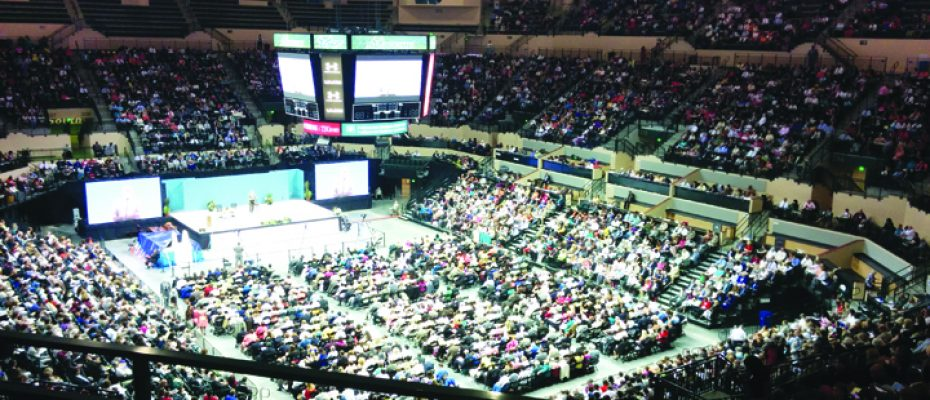 Jehovah's Witnesses Attend Annual Convention At USF Sun Dome