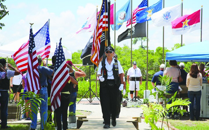 Over 200 Gather To Respect, Remember At My Warrior's Place