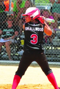 SPORTSJada Smallwood_at bat