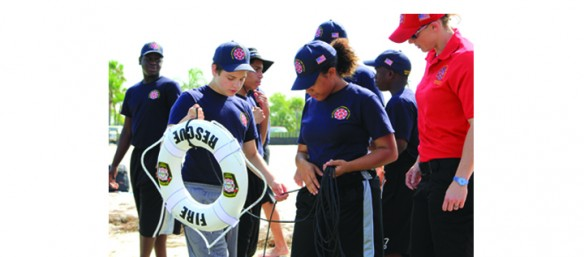 Fire Rescue Summer Youth Academy Post Camp Success