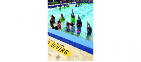 Go Skateboarding Day Celebrated, World's Largest Swimming Lesson &More