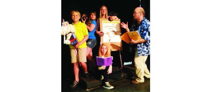 Village Players Present Canterbury Tales or Geoffrey Chaucer's Flying Circus