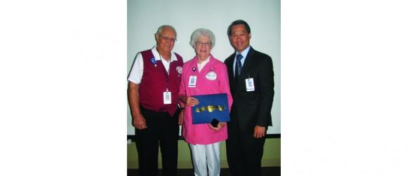Brandon Regional Hospital Announces First Humanitarian Award Volunteer Recipient