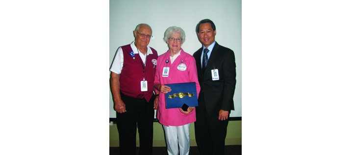 Brandon Regional Hospital Announces First Humanitarian Award Volunteer Recipient