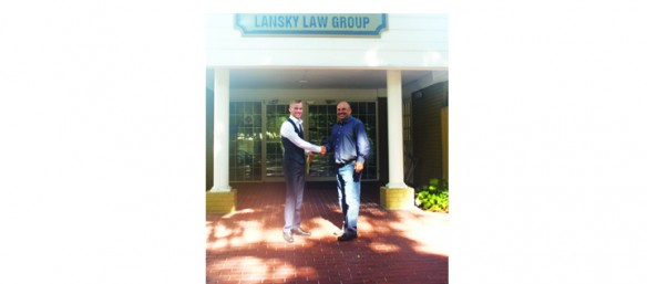 Local Resident Receives First Future Leader Scholarship From Lansky Law