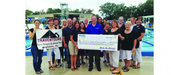 Chicks For Charity Presents Brandon Sports And Aquatic Center With Over $10,000