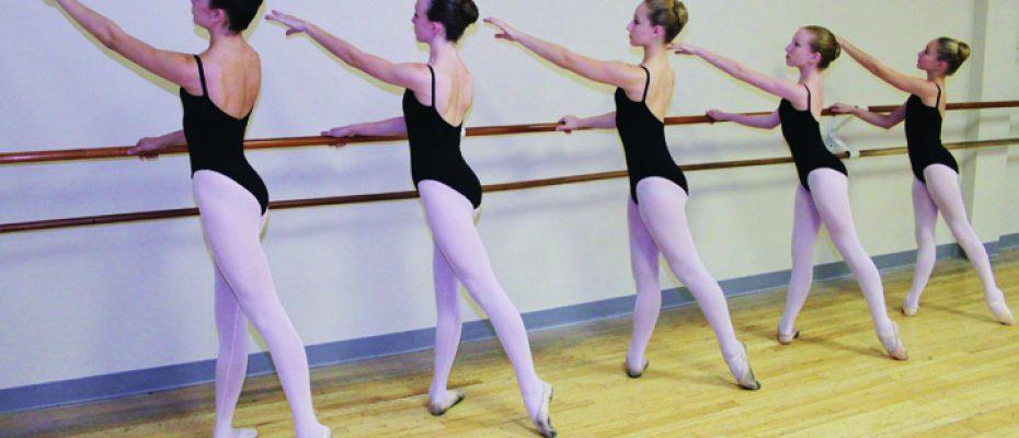 ArtShortBB Dancers at Barre