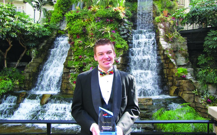 Ben Simon Earns Second Networking Concepts National Title