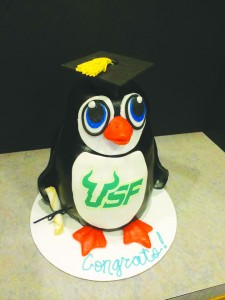 CakeGraduation Penguin Cake