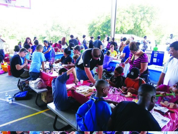 Backpack Event Provides School Supplies To Over 500 Families In Need