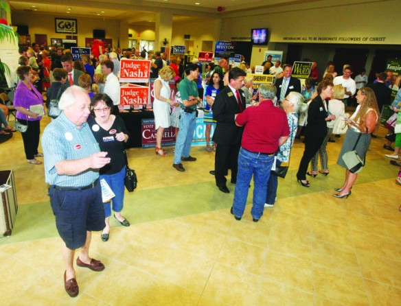 Over 60 Candidates Boast Qualifications To Residents During 2014 Candidate Forum