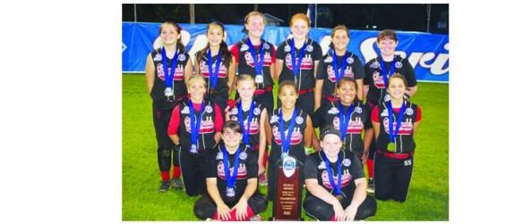 Bloomingdale Blaze Softball Team Wins 12U World Series Championship