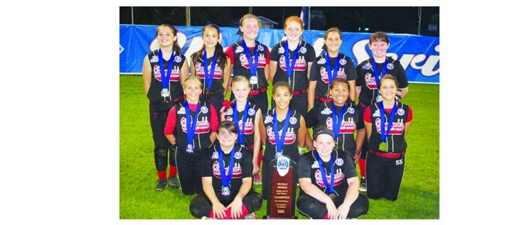 Bloomingdale Blaze Softball Team Wins 12U World Series Championship