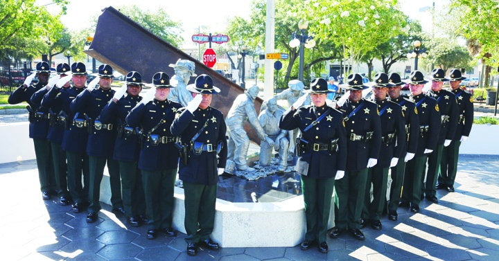 Sheriff's Office Dedicates 9/11 Fallen Heroes Memorial