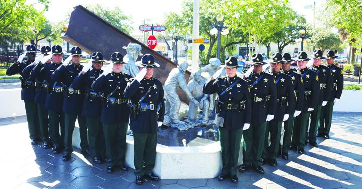 Sheriff's Office Dedicates 9/11 Fallen Heroes Memorial