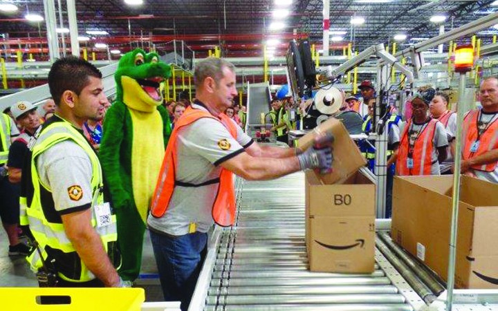 Amazon Begins Operation At New Lakeland Fulfillment Center