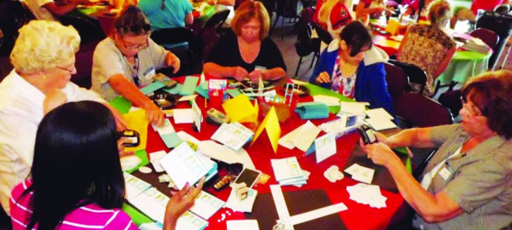 Center Place Hosts Seventh Annual Holiday Cards For Troops In October