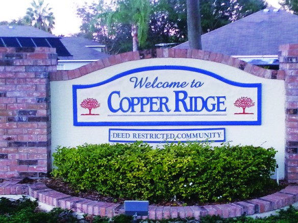 Reminders For Copper Ridge Residents
