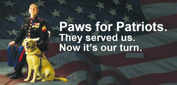 Seventh Annual Paws For Patriots Golf Tournament To Raise Funds For Veteran Guide Dogs