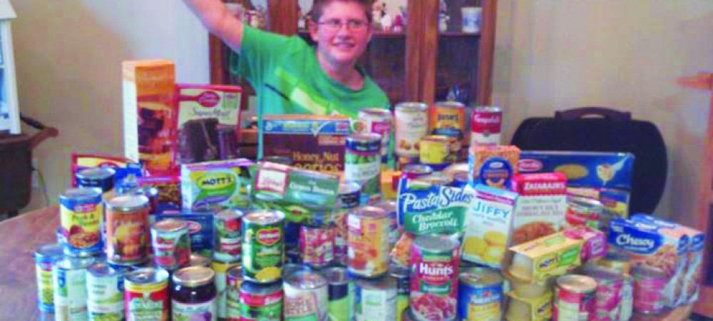 Local Middle School Student Spreads Sunshine To Community Through Donations
