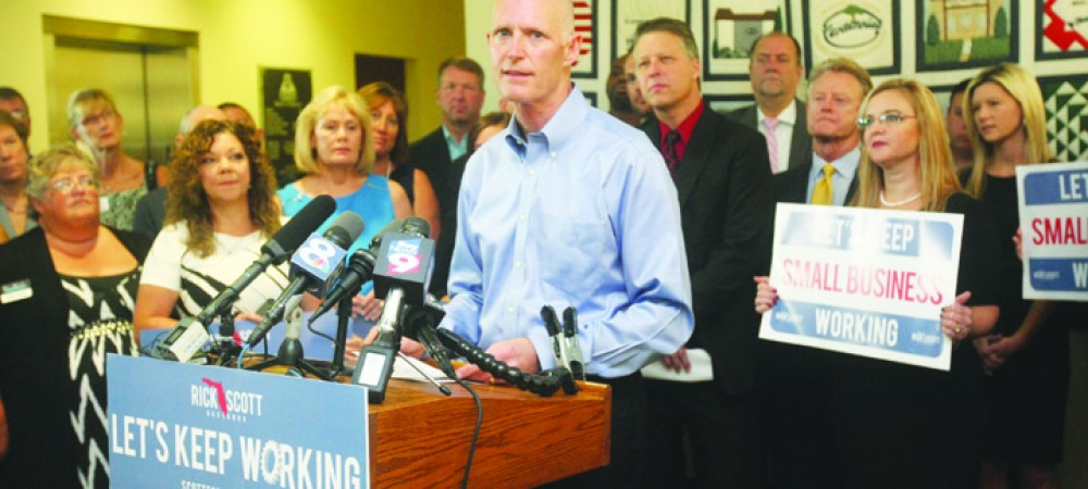 Governor Rick Scott Brings Transportation Policies Initiative To Community