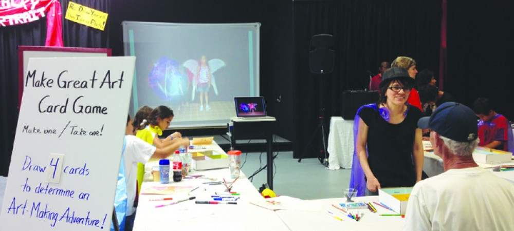 International Day Of Drawing Celebrated With Annual Ruskin Big Draw Event