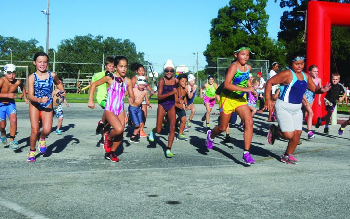 Close To 100 Residents Attended The BSAC Third Annual Dash And Splash
