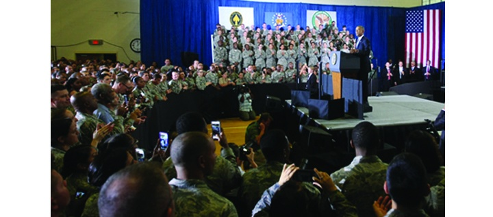 Obama Discusses Counter-terrorism Campaign at Central Command