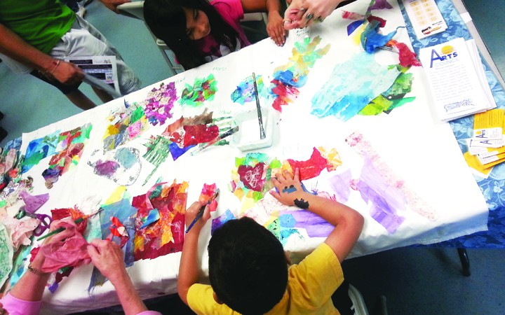 Center Place Presents Eighth Annual Chalk Walk And Fourth Annual Indoor Outdoor Art Fest