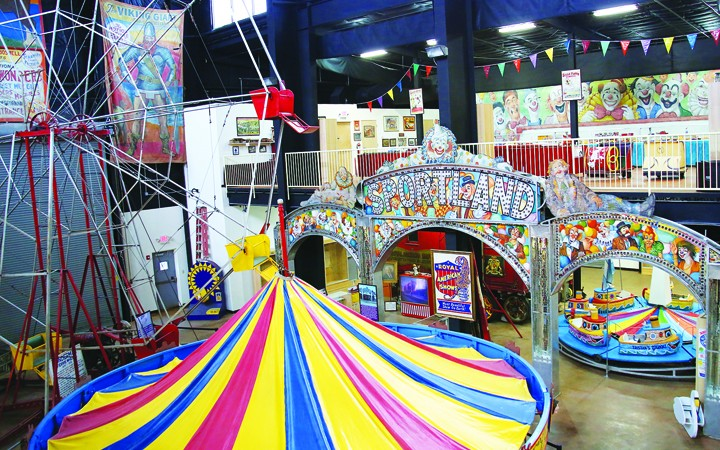 Carnival History Lives On At Showmen's Museum In Riverview