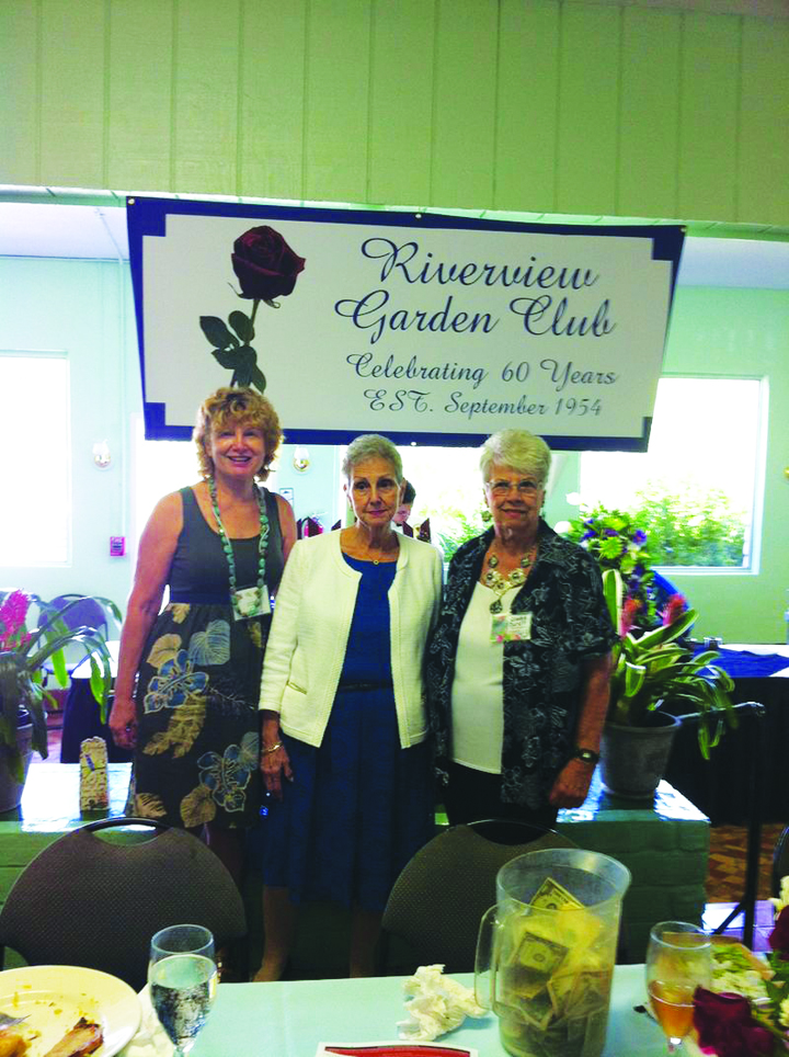 Riverview Garden Club Celebrates 60 Years Of Service, Friendship In The Community